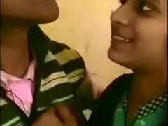 Bihar Nawada Wickey Sir Huddle against Kissing With Khusbu In Classroom