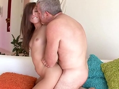 Ariana Gigantic seducing will not hear of horny stepdad