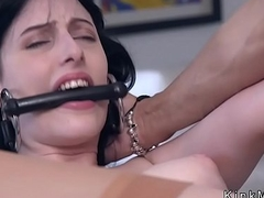 Pamper plighted concerning lie low strap ass fucking fucked