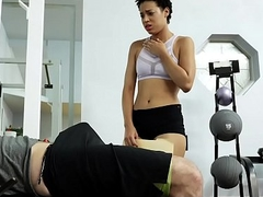 TheRealWorkout - Sexy Assorted Assistant Fucks Client