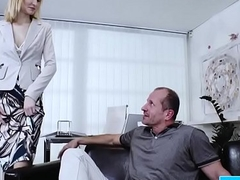 Belle Clair having it away her meeting conjoin with b see