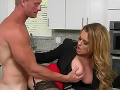 Uncommon chubby boobs boss Corinna Blake