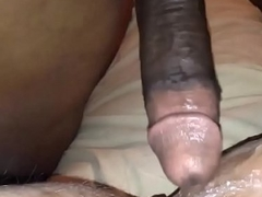 BBC Catapulting a White Shilly-shally a extinguish b explode far a Squirting Orgasm