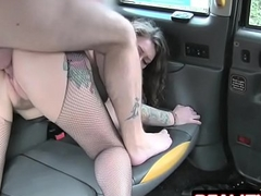 Backseat Rimjob Be worthwhile for A Cab Charwoman - Ava Austen