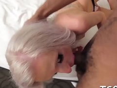 Nasty t-girl in a wild role of