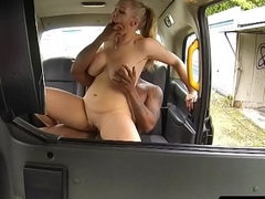 Busty Obsolete horse-drawn hackney driver pussyfucked interracially