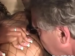 Hot hyacinthine ass-smothering act