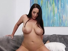 Bosomy Angela Sallow Fucks With A Voyeur